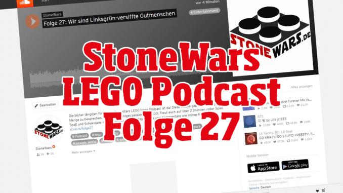 StoneWars LEGO News Podcast Folge 27