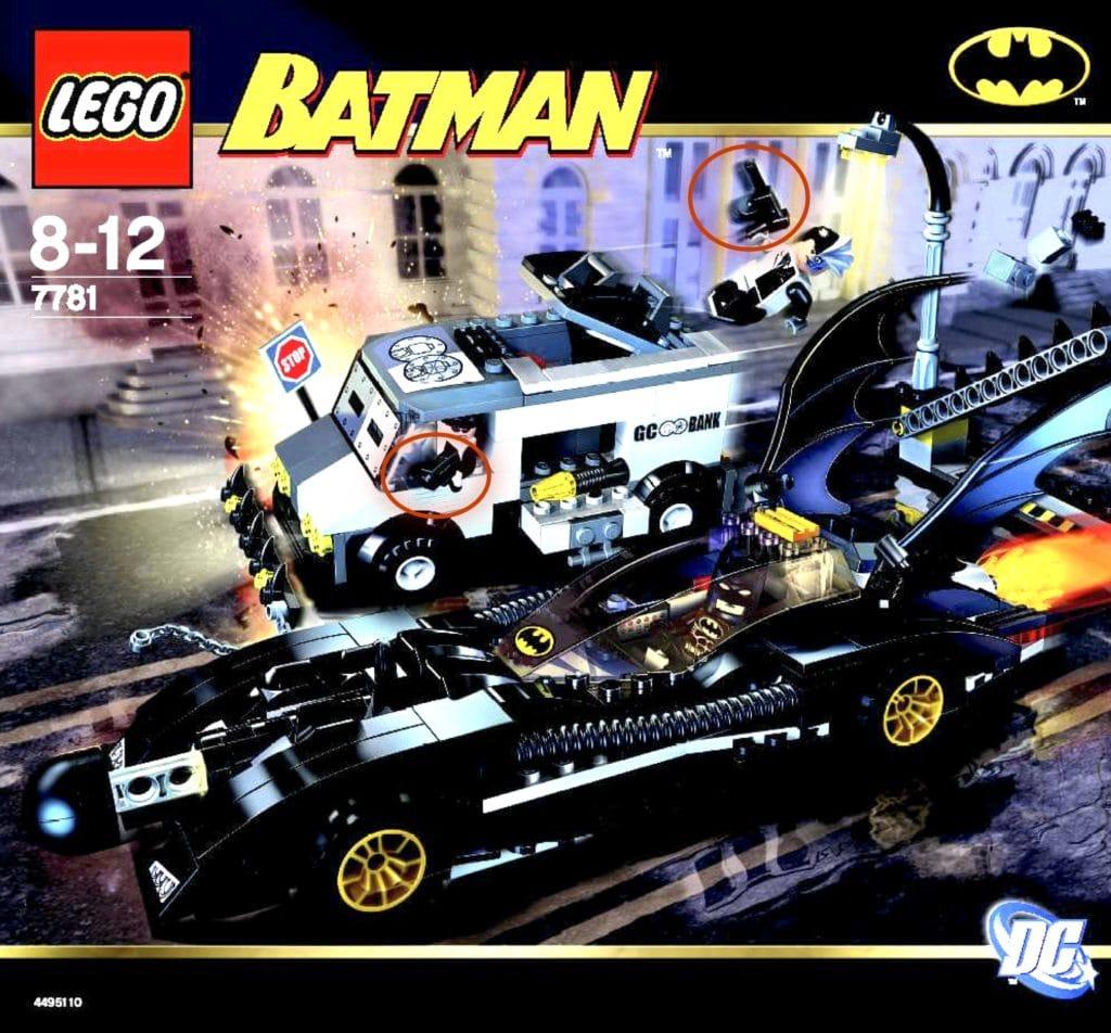 LEGO7781 The Batmobile: Two-Face's Escape Box Art