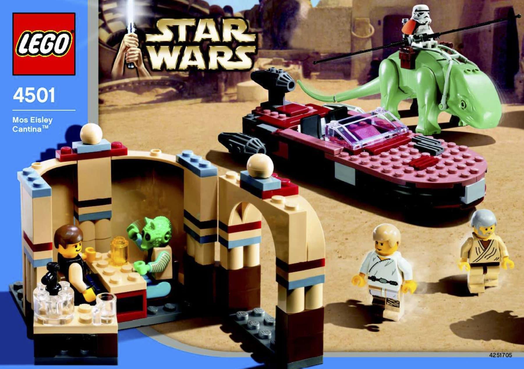 LEGO Star Wars 4501 Mos Eisley Cantina