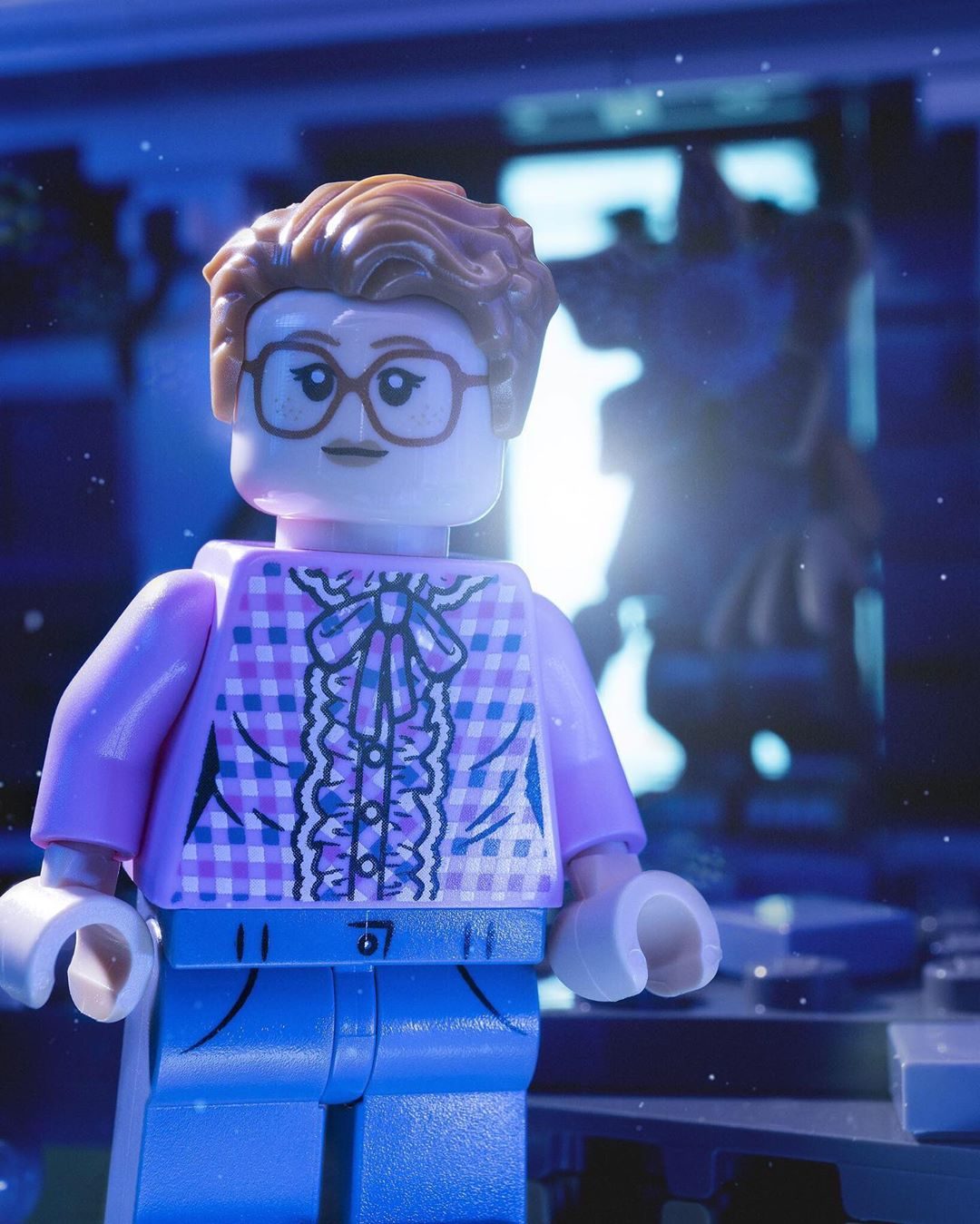 SDCC Exclusive LEGO Stranger Things Barb