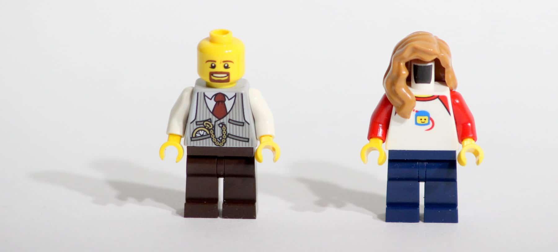 The LEGO Story: Minifiguren laut Anleitung