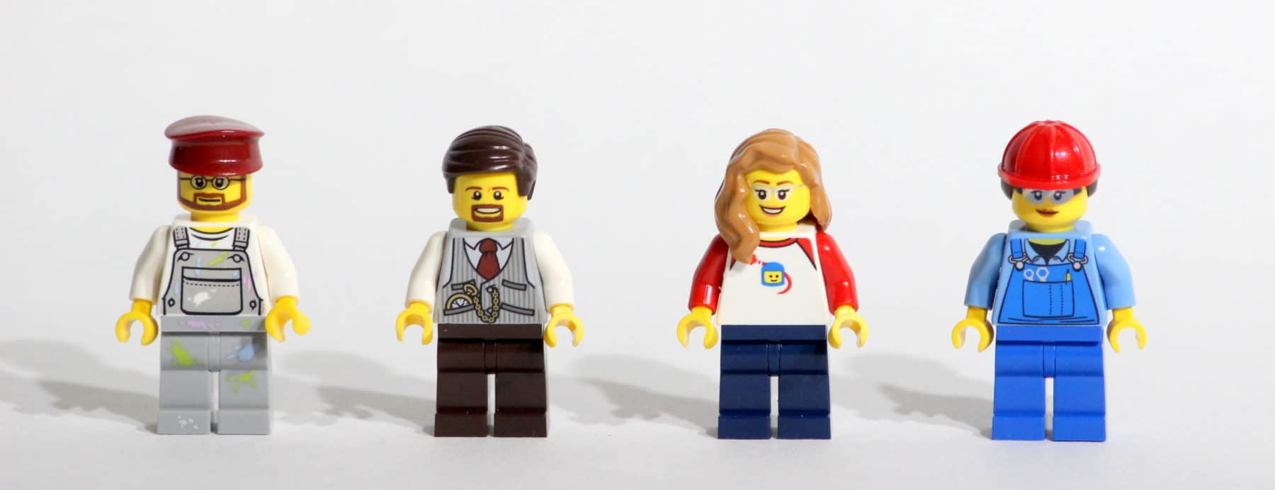 The LEGO Story: Minifiguren