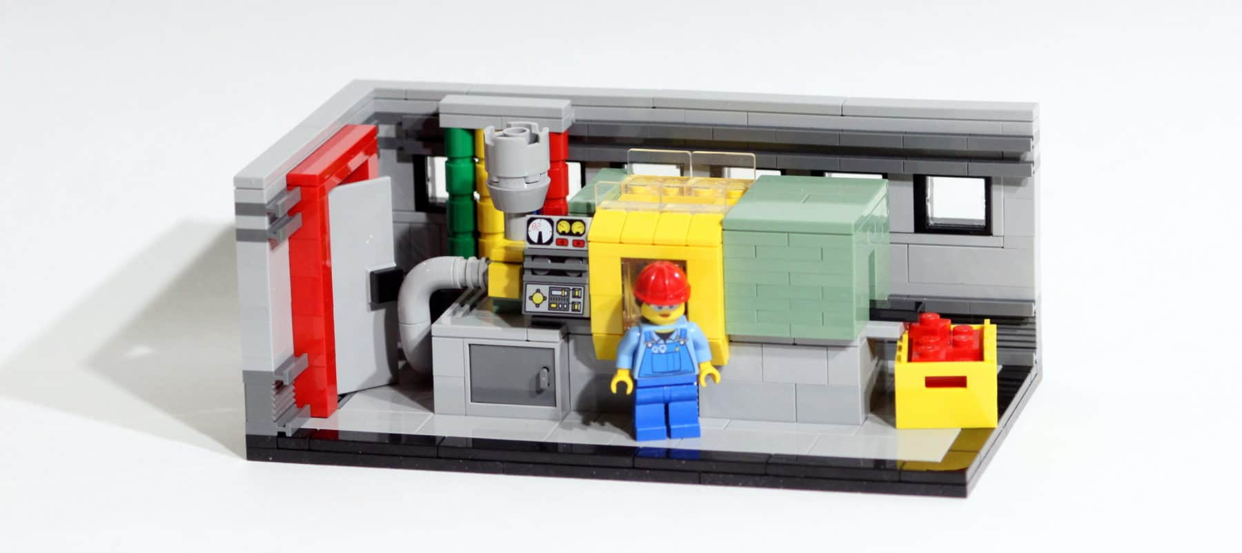 The LEGO Story: Moderne Fabrik