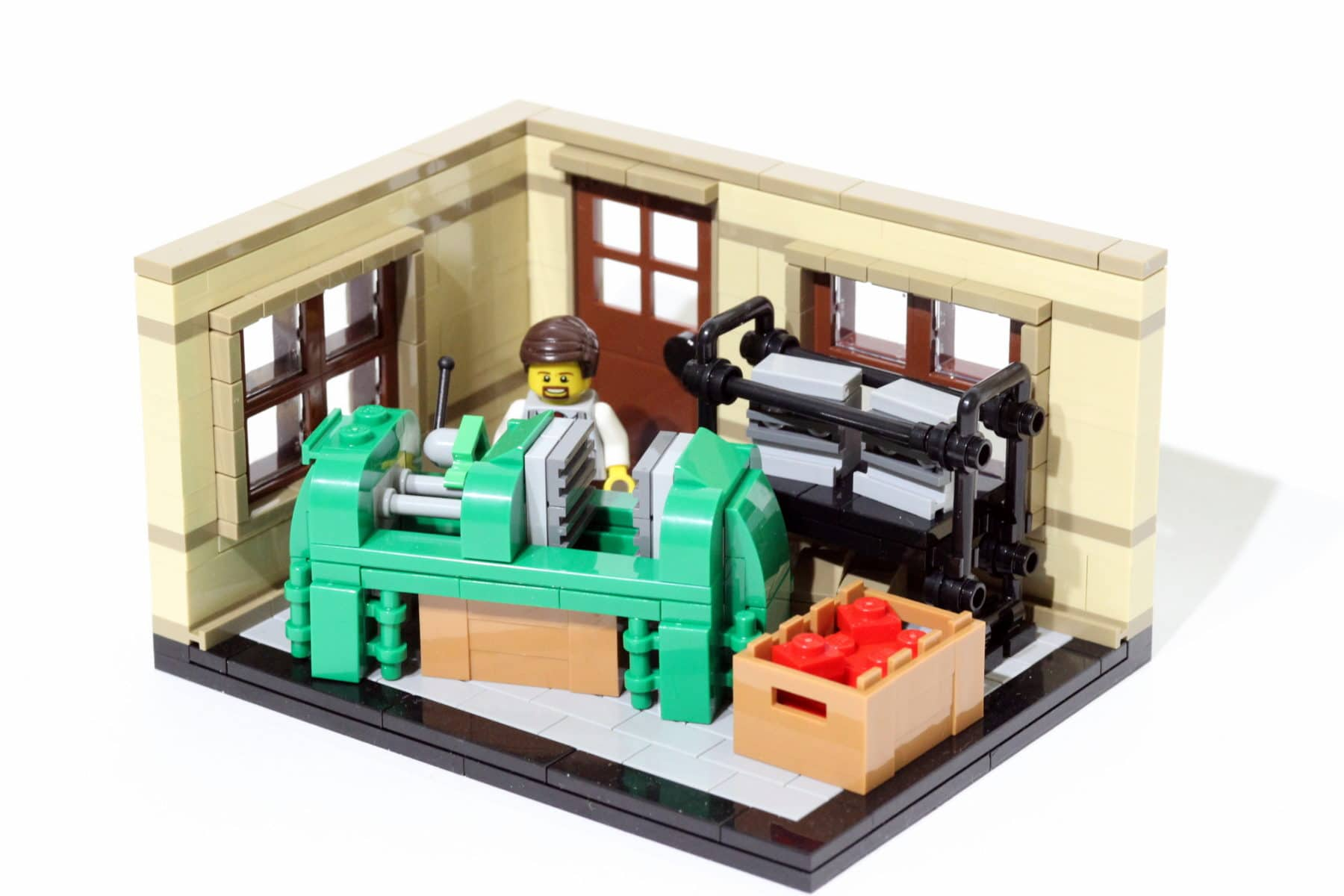 The LEGO Story: Erster Spritzguss