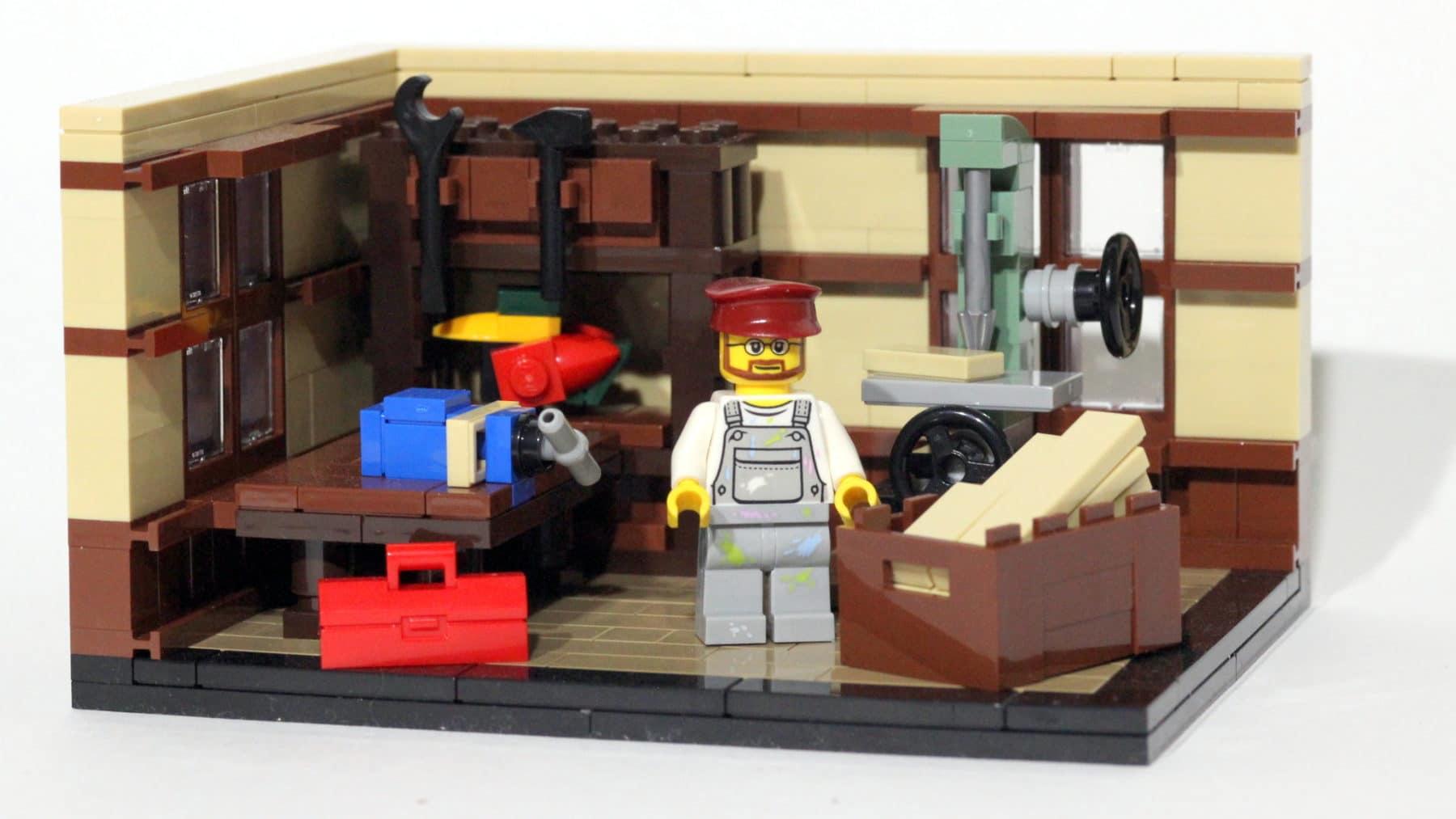 The LEGO Story: Tischlerwerkstatt