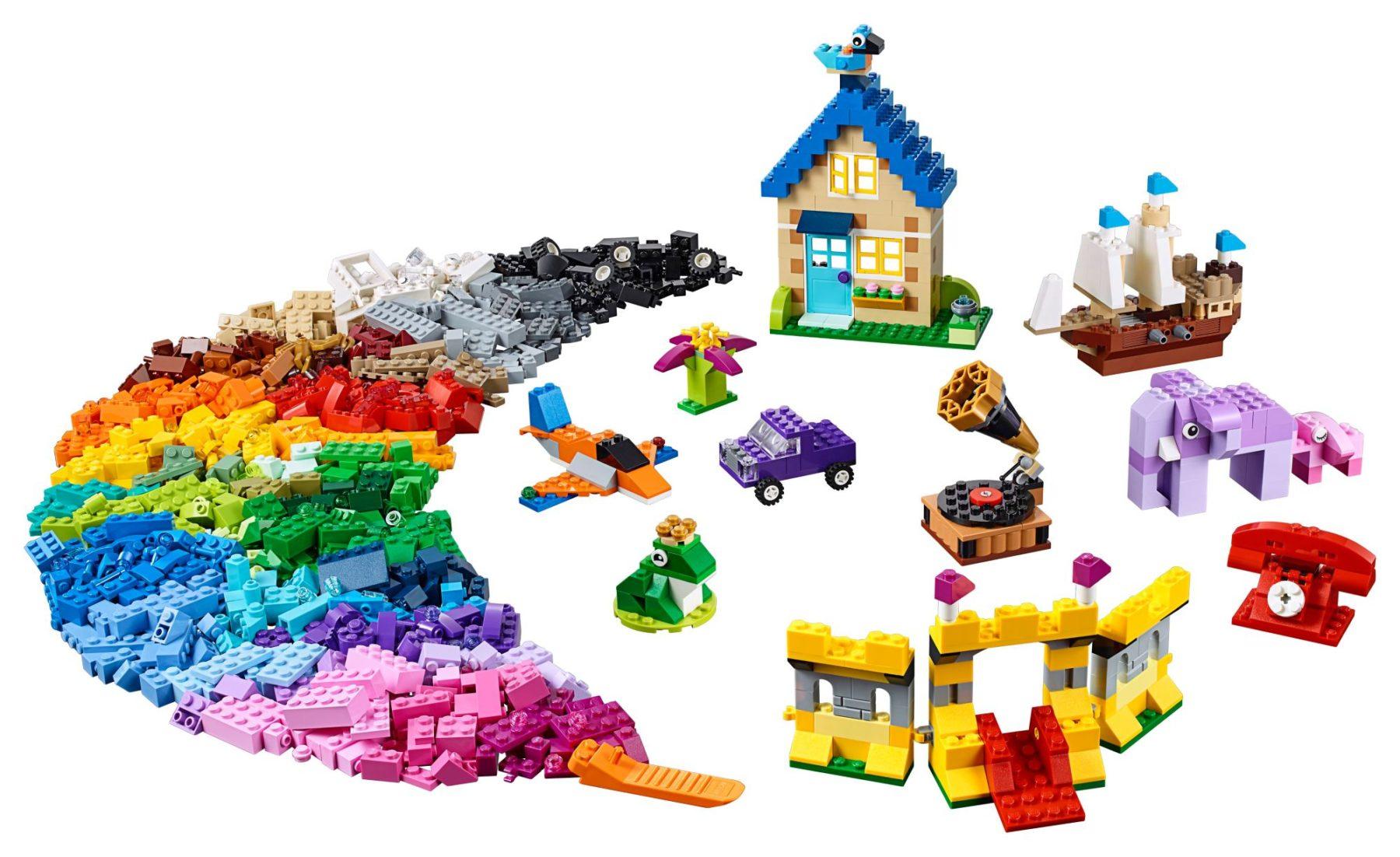 Inhalt der LEGO 10717 Extragroße Steinebox
