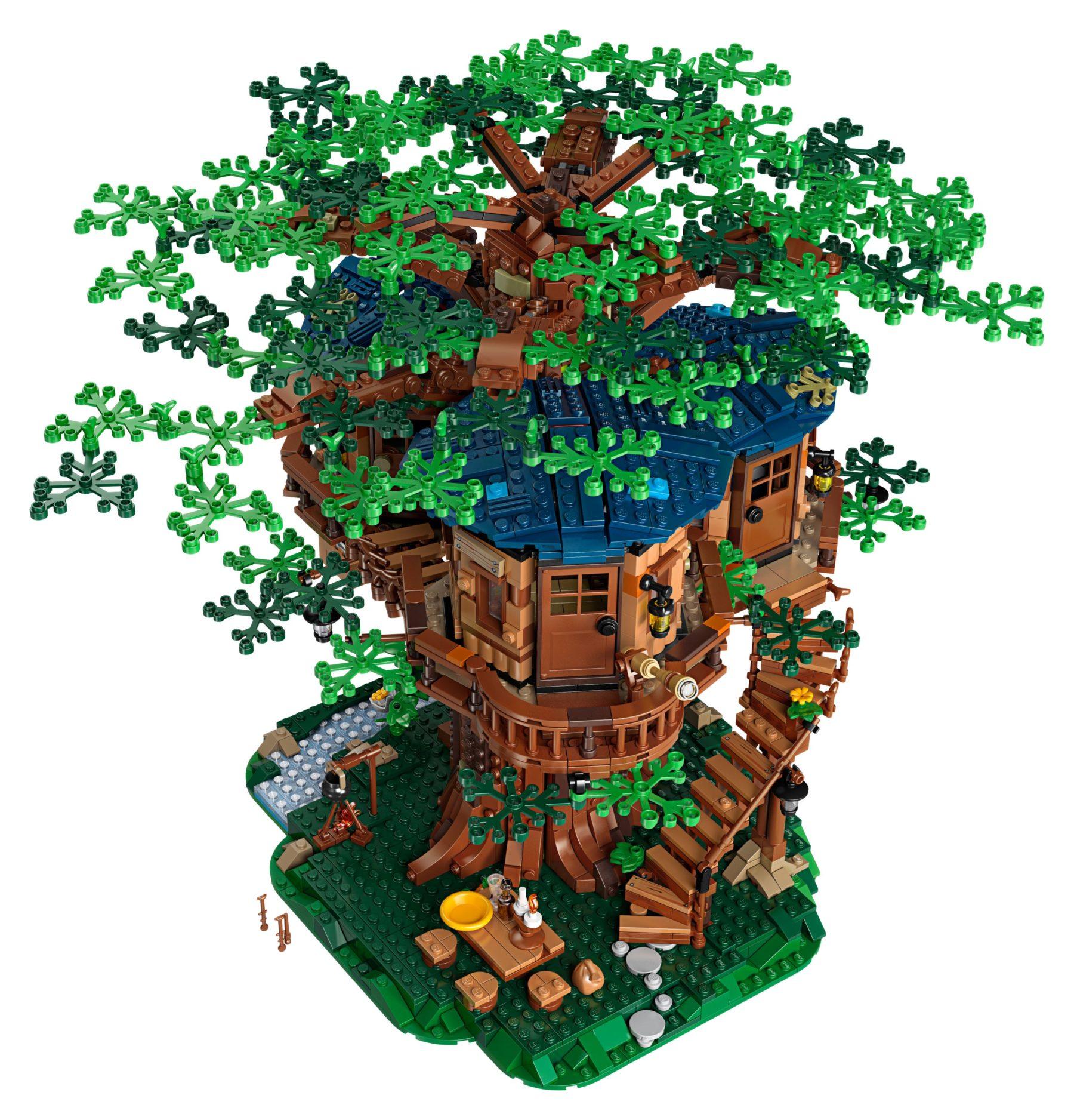 LEGO 21318 Baumhaus von oben
