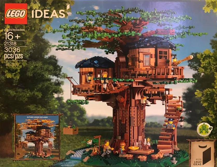LEGO 21318 Baumhaus Cover