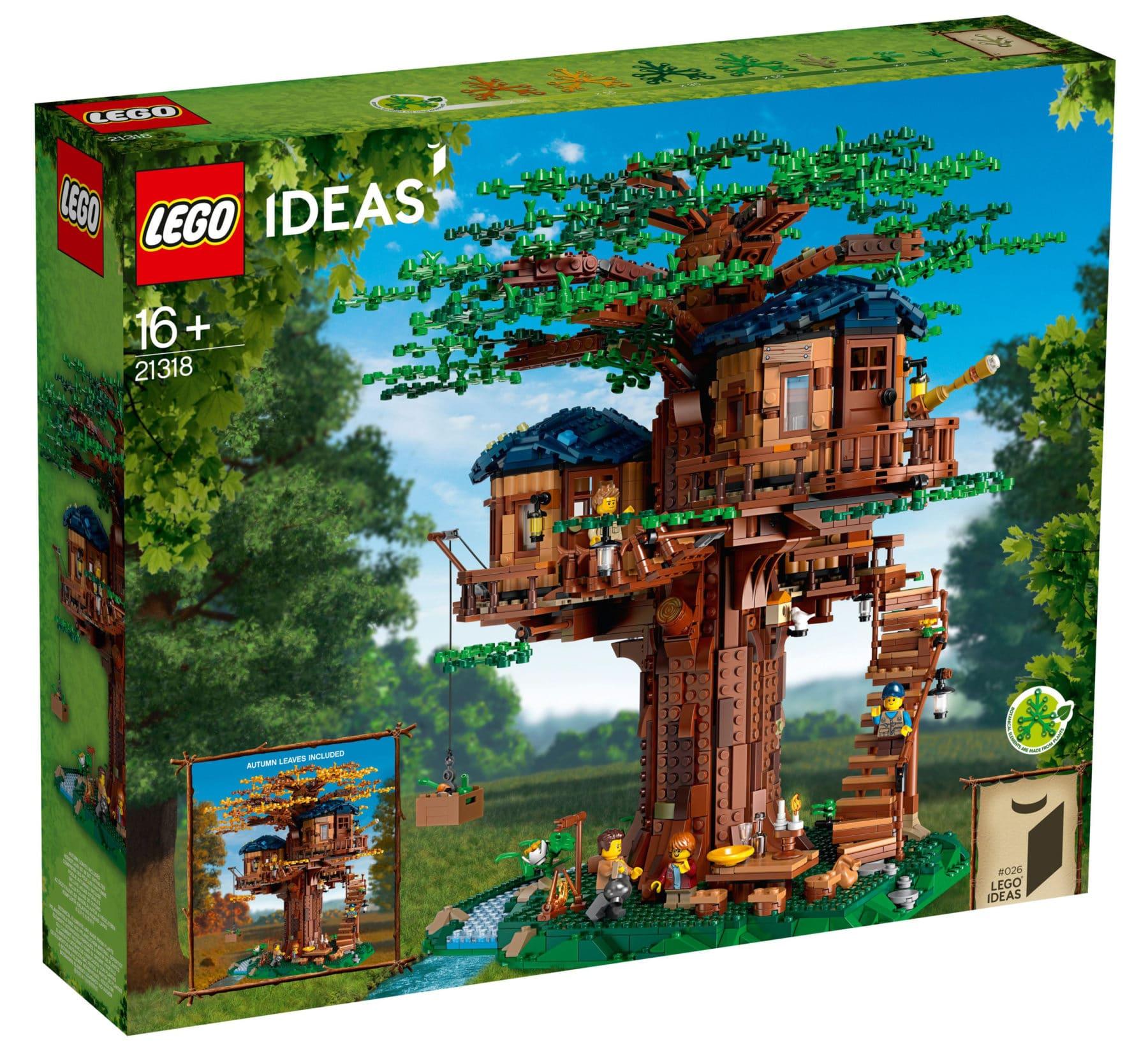 LEGO 21318 Baumhaus Box