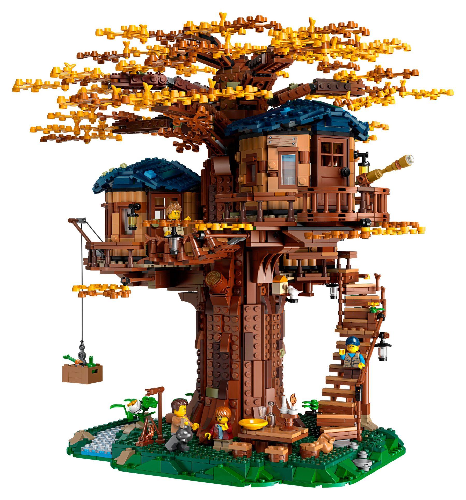 LEGO 21318 Baumhaus im Herbst-Look
