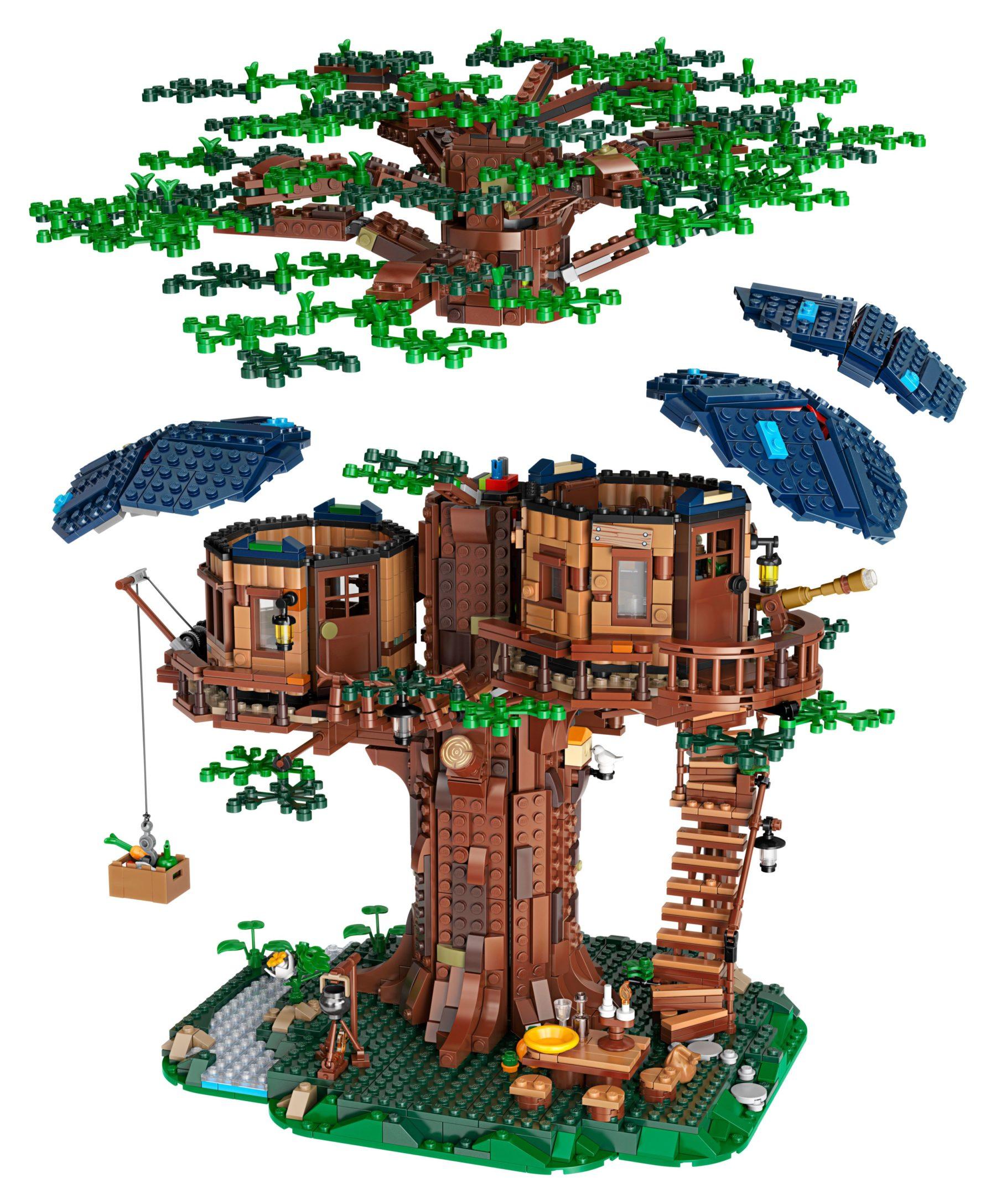LEGO 21318 Baumhaus Demontage