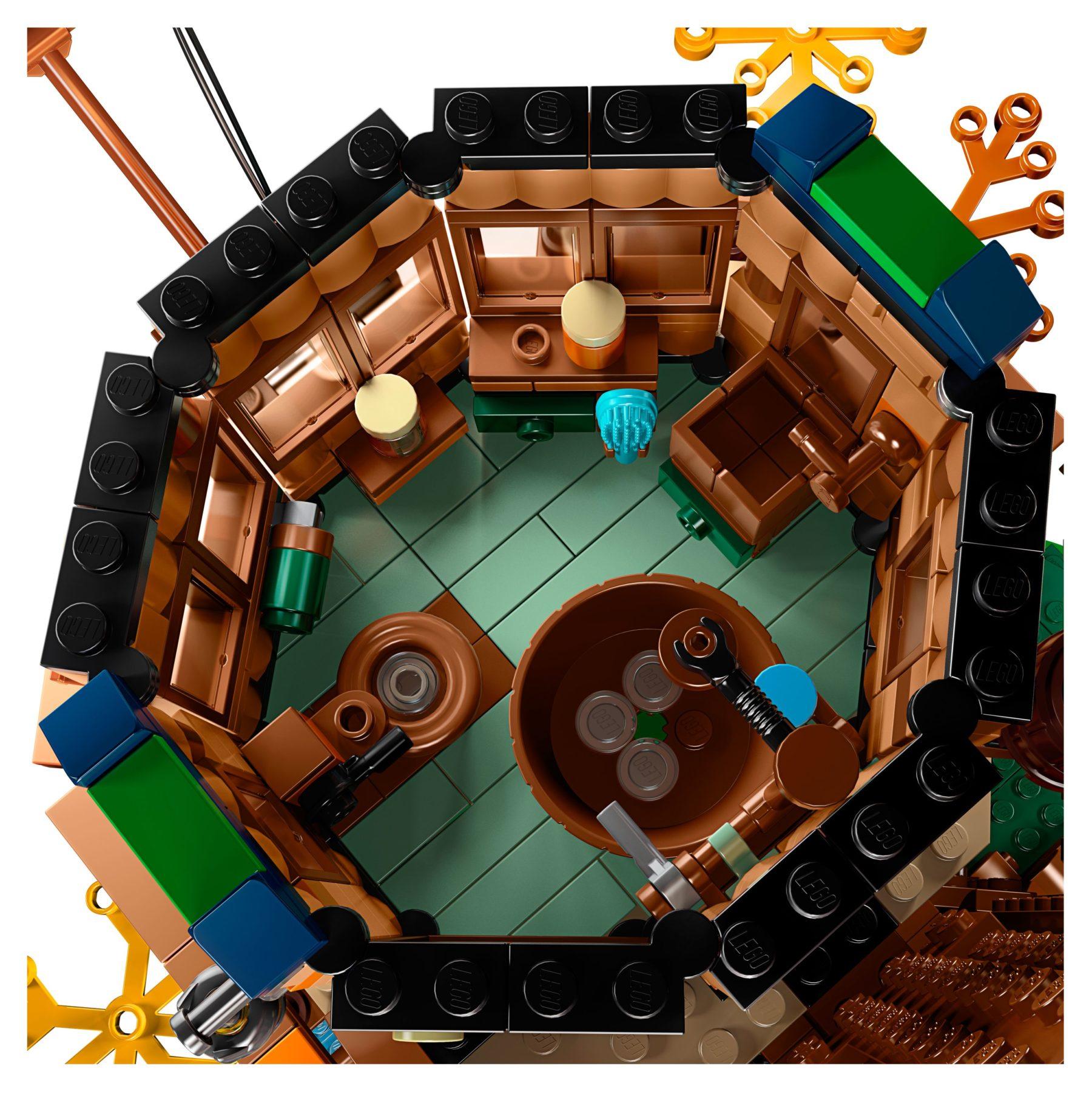 LEGO 21318 Baumhaus Innenraum #1