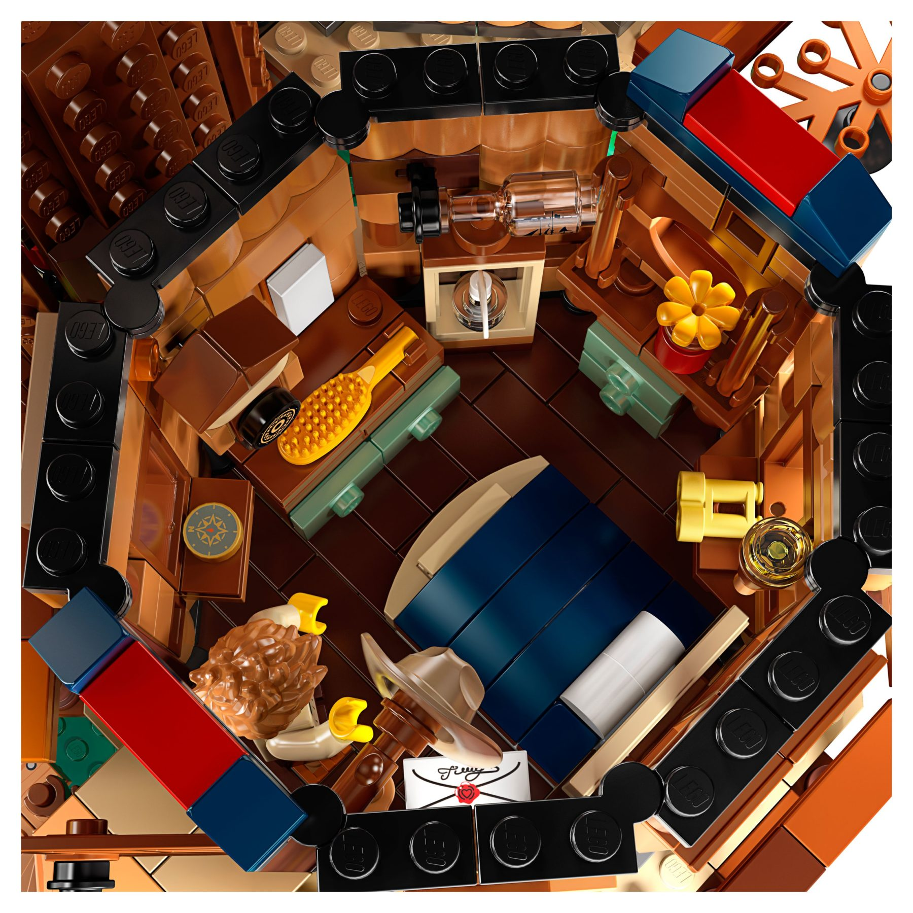 LEGO 21318 Baumhaus Innenraum #2