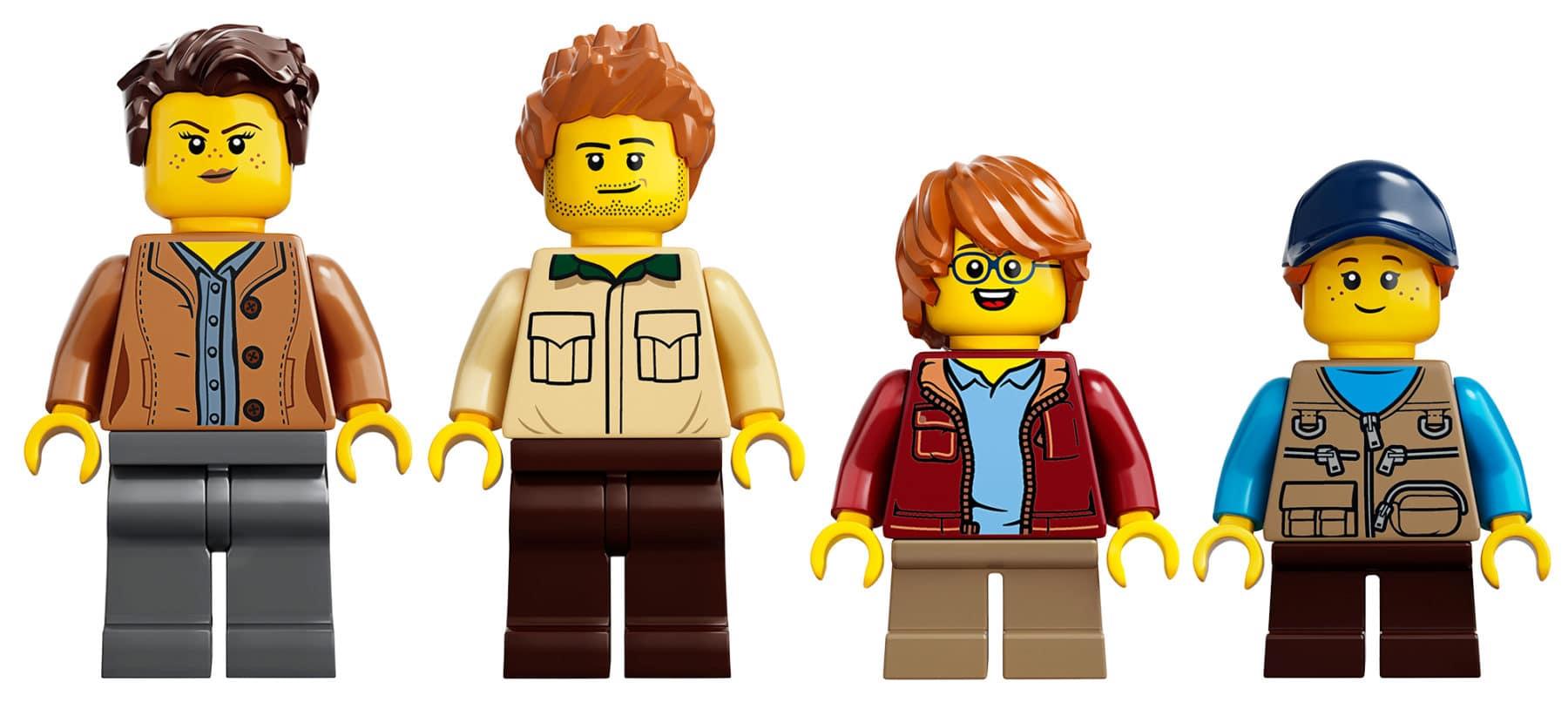 LEGO 21318 Baumhaus Minifiguren