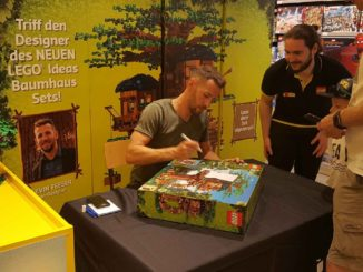 LEGO 21318 Signing Event mit Kevin Feeser