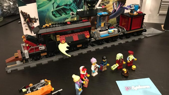 LEGO Hidden Side 70424 Ghost Train Express im Video-Review