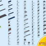 LEGO SDCC 77903 Teileliste
