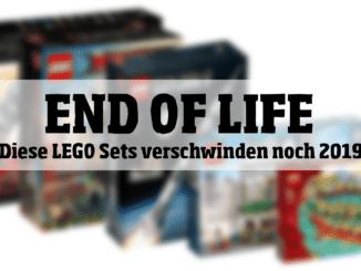 End of Life: Diese LEGO Sets verschwinden noch 2019