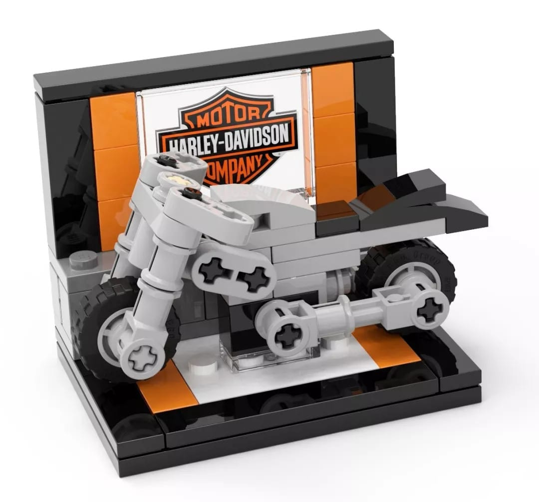 LEGO Harley Davidson Mini-Build Event in China