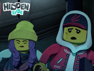 LEGO Hidden Side Trailer