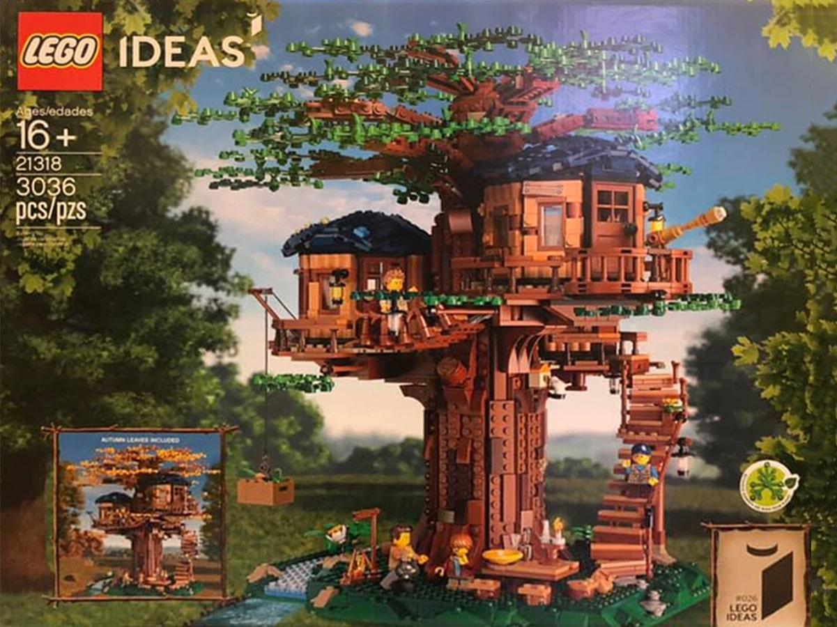 LEGO Ideas Baumhaus Vergleich