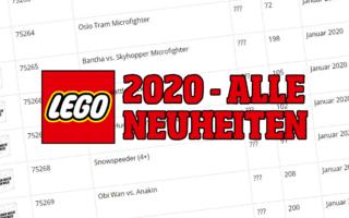 LEGO 2020 - Alle Neuheiten