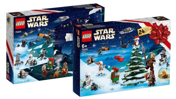 Lego Weihnachtskalender 2019.Lego Star Wars 75245 Adventskalender 2019 Bilder Infos