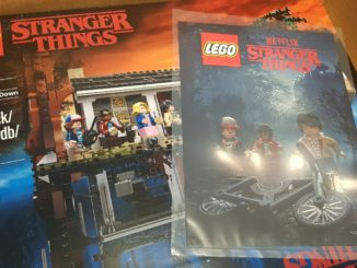 LEGO Stranger Things Poster