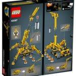 LEGO Technic 42097 Spinnen-Kran Box Rückseite