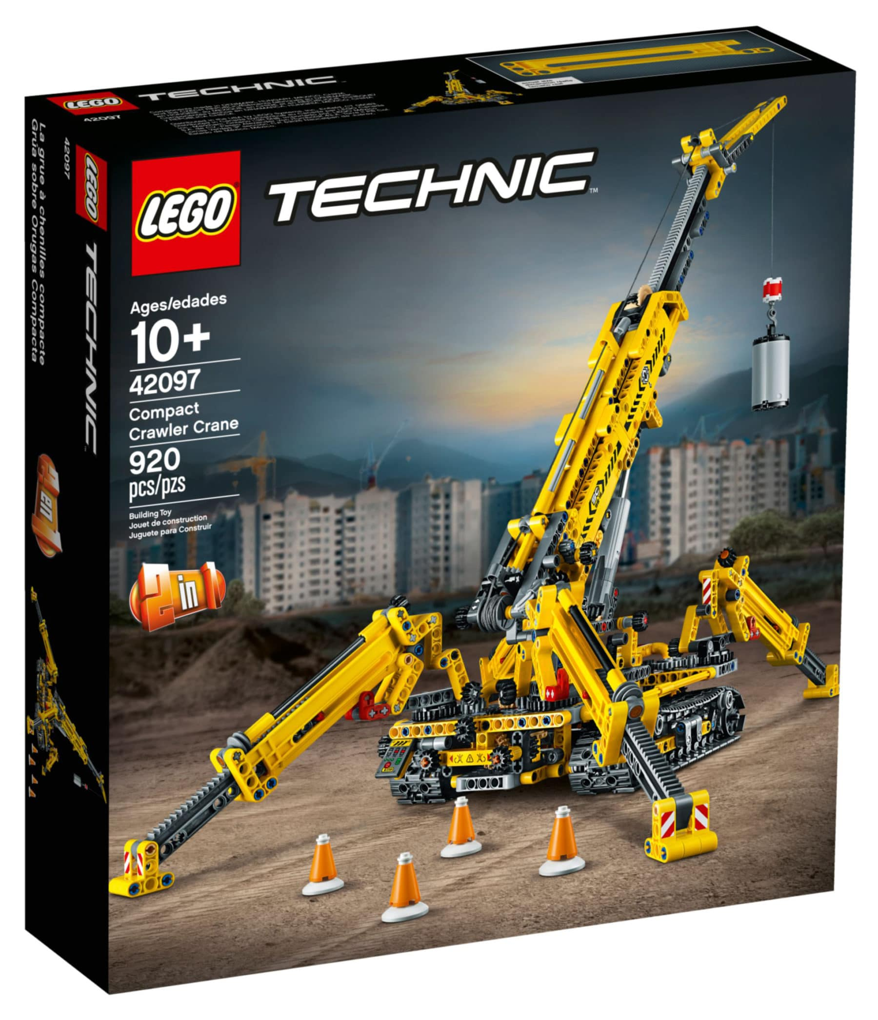 LEGO Technic 42097 Spinnen-Kran Box