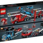 LEGO Technic 42098 Autotransporter Box Rückseite