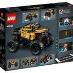 LEGO Technic 42099 Allrad Xtreme-Geländewagen Box Rückseite