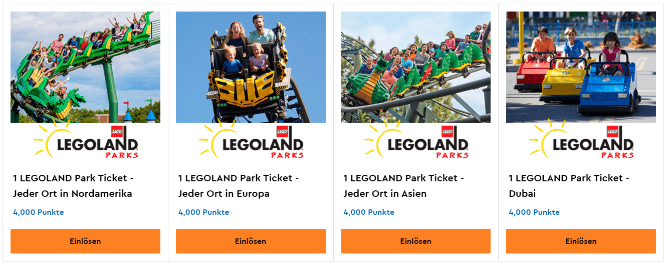 LEGO VIP LEGOLAND Tickets