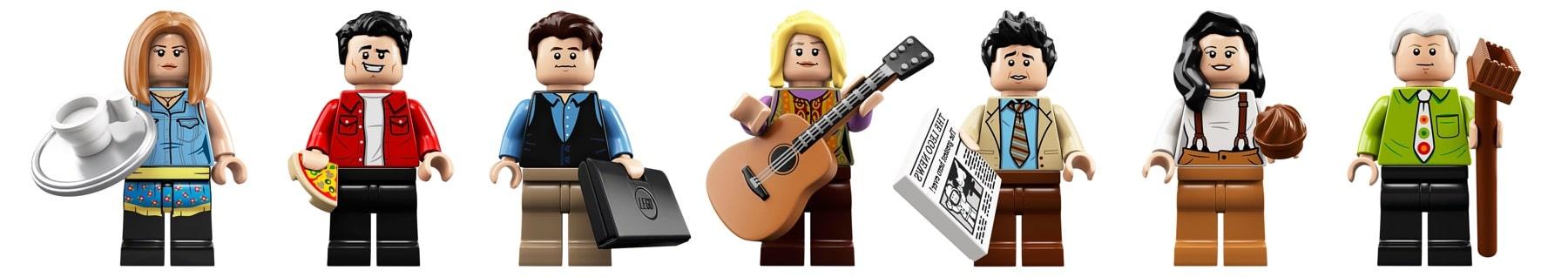 LEGO 21319 Central Perk Minifigures