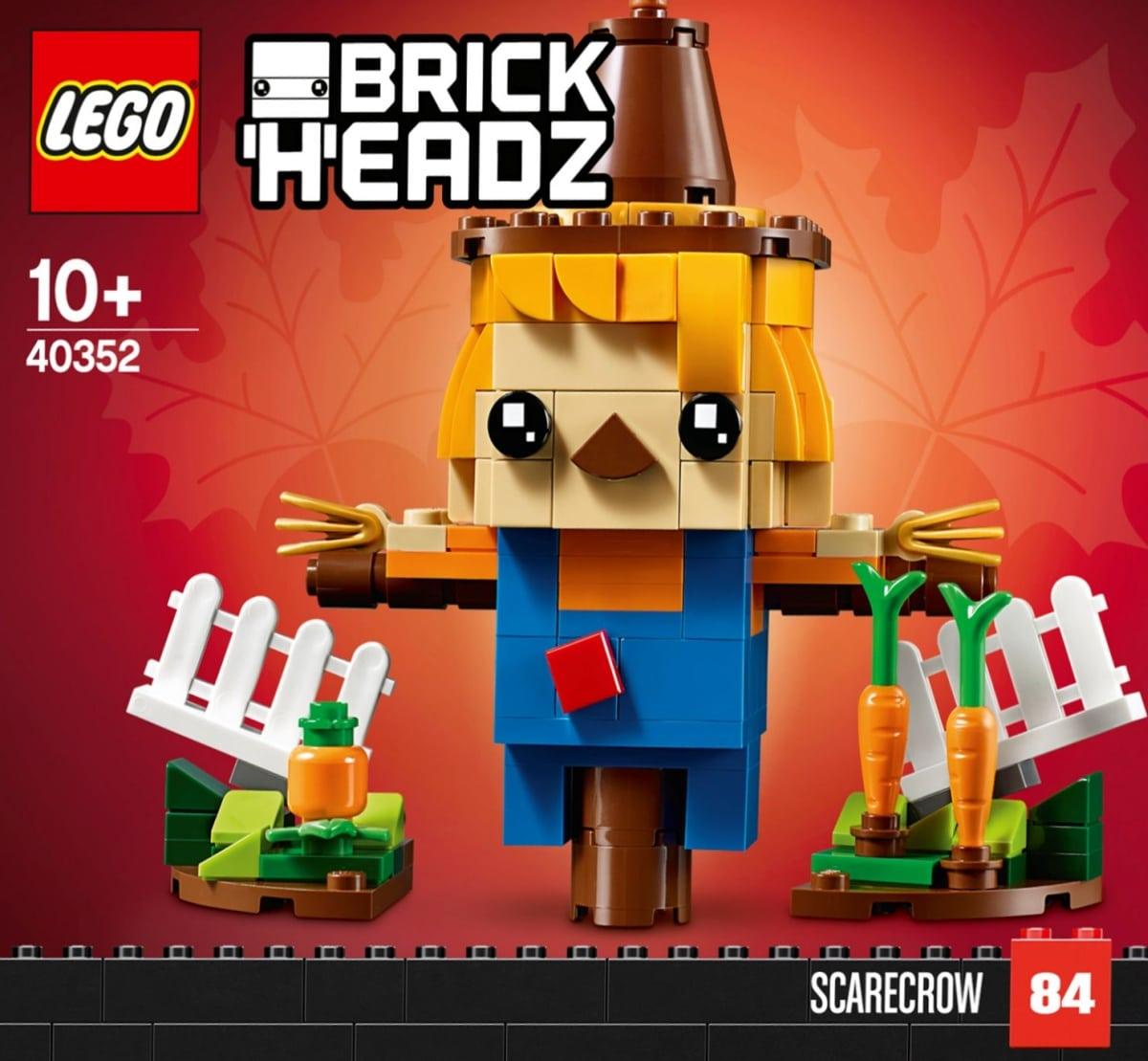 LEGO 40352 BrickHeadz Vogelscheuche Box Front