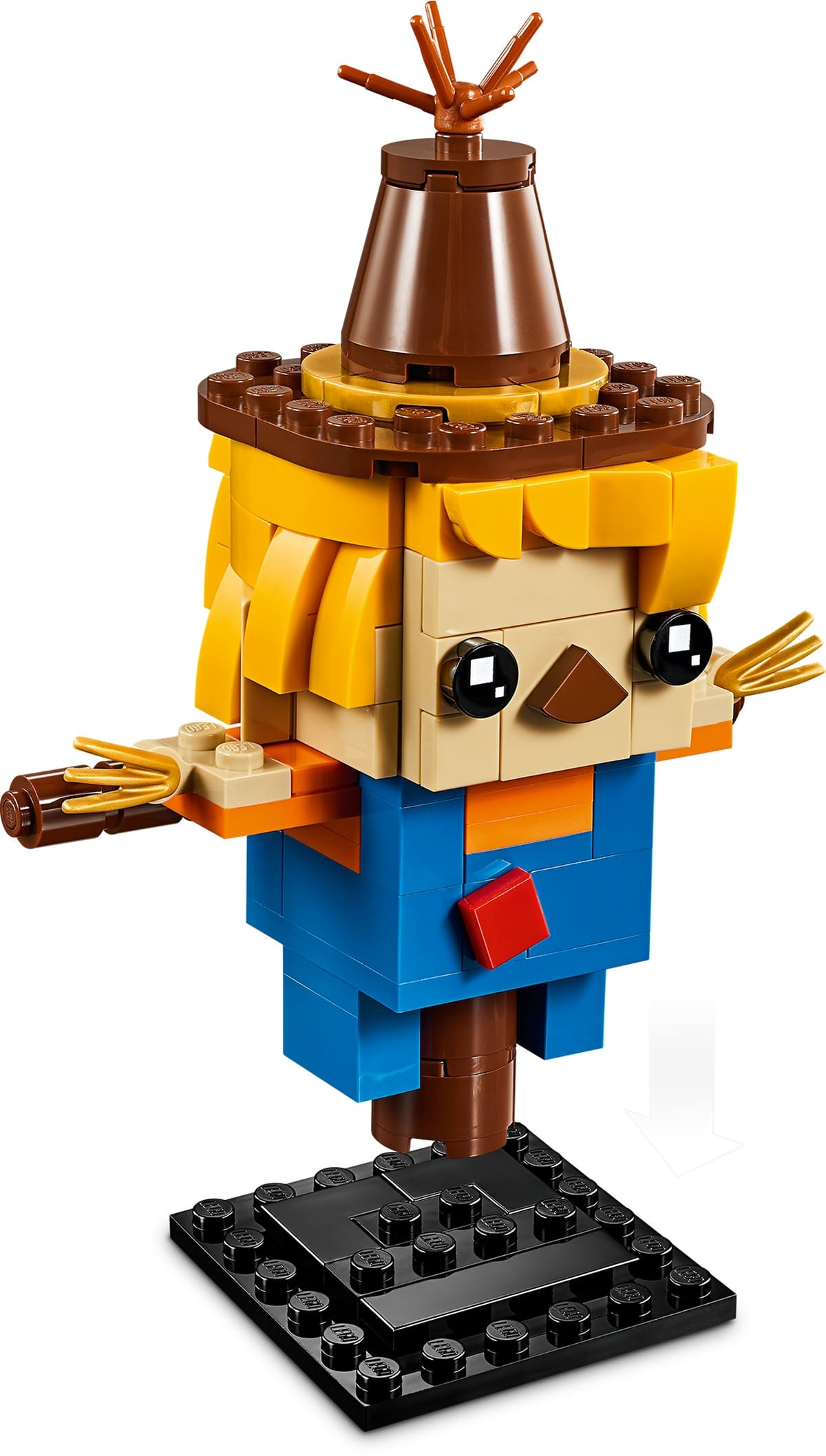 LEGO 40352 BrickHeadz Vogelscheuche Plate