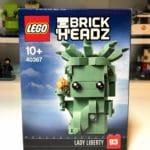 LEGO BrickHeadz 40367 Lady Liberty Box Front