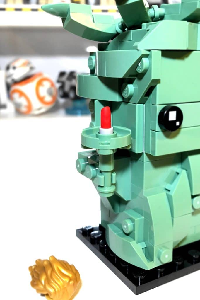 LEGO BrickHeadz 40367 Lady Liberty Flame