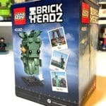 LEGO BrickHeadz 40367 Lady Liberty Box Back