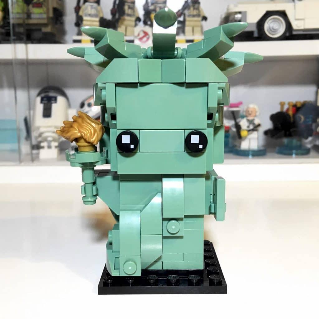 LEGO BrickHeadz 40367 Lady Liberty Front