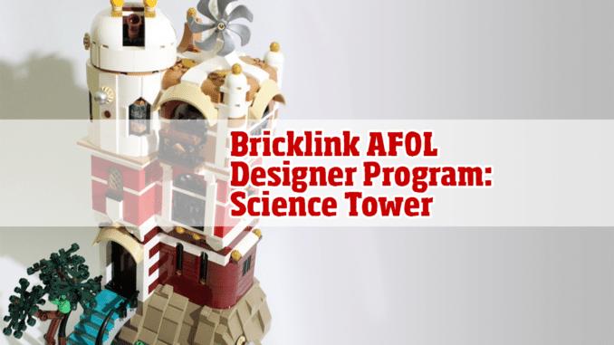 Bricklink ADP Science Tower Reveiw