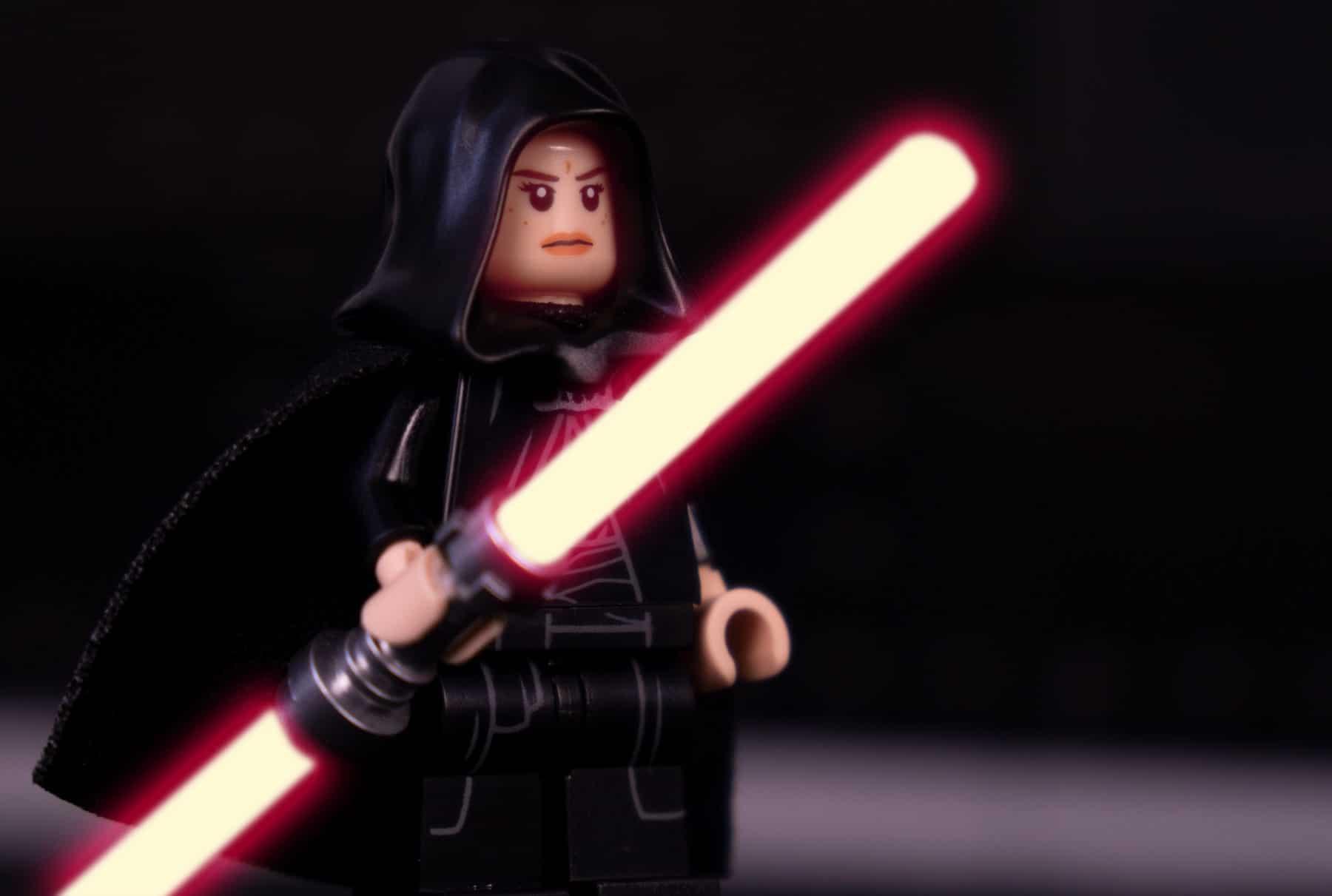 Dark Side Rey LEGO Minifigur