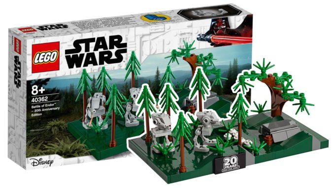 LEGO 40362 Battle of Endor Cover