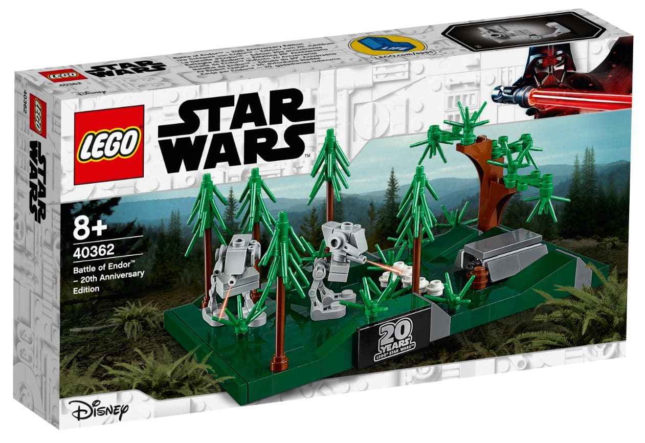LEGO 40362 Battle of Endor Box Front