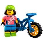 LEGO 71025 BMX Fahrerin