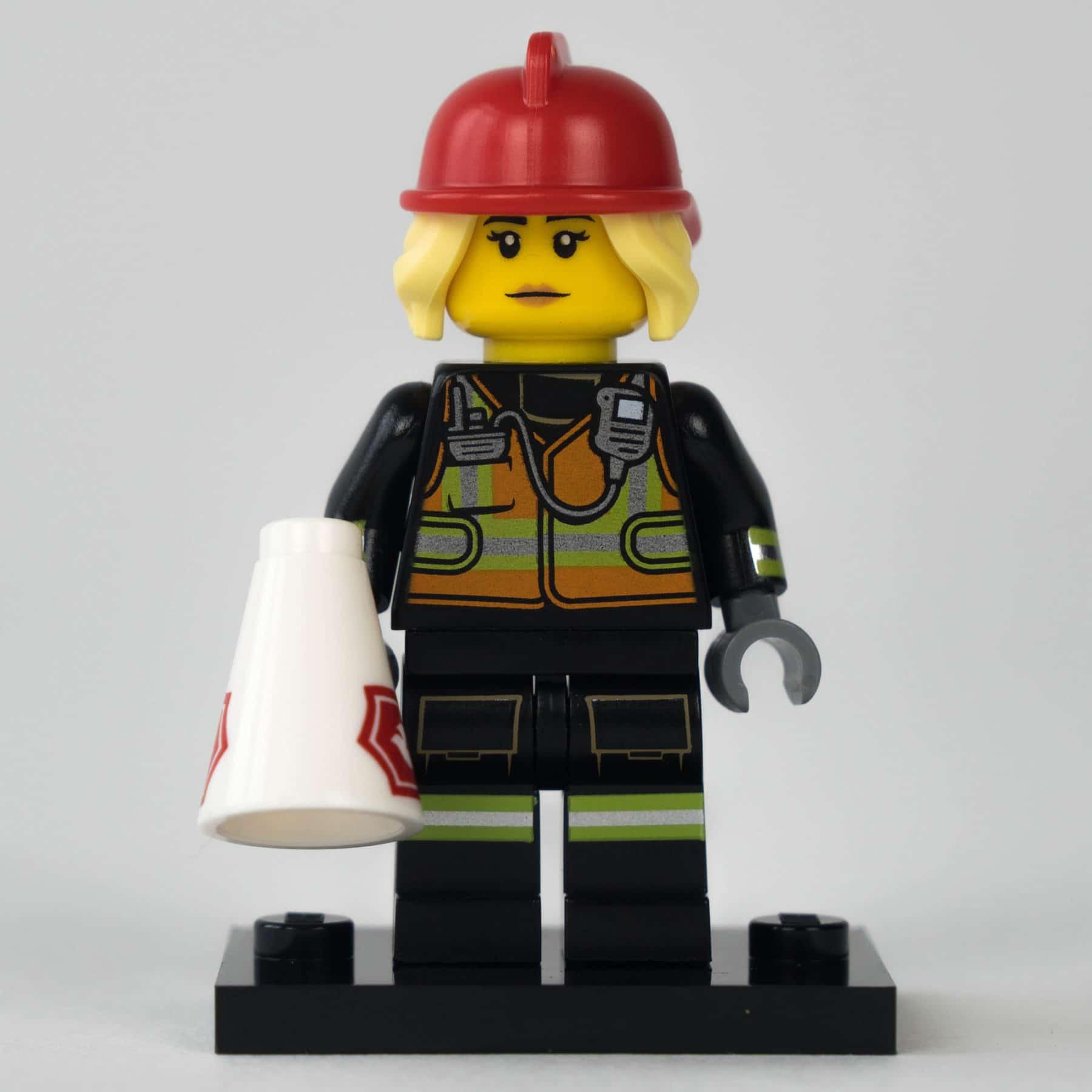 LEGO 71025 Minifigur: Feuerwehrfrau