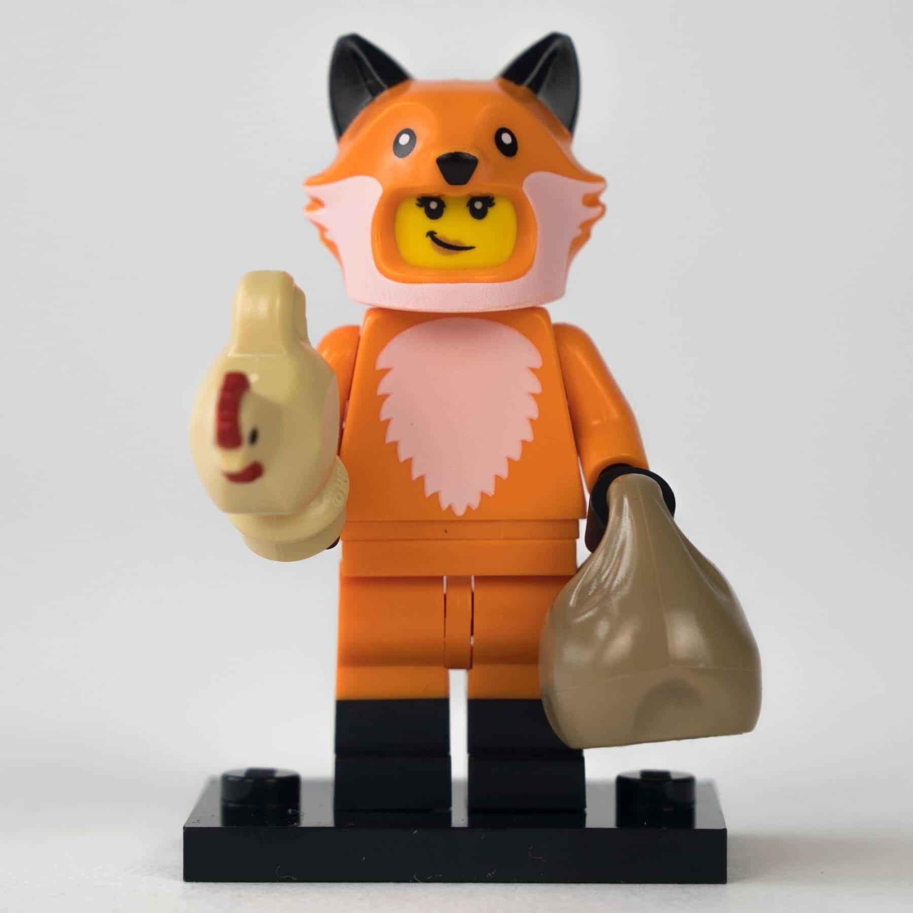LEGO 71025 Minifigur: Fuchsfrau