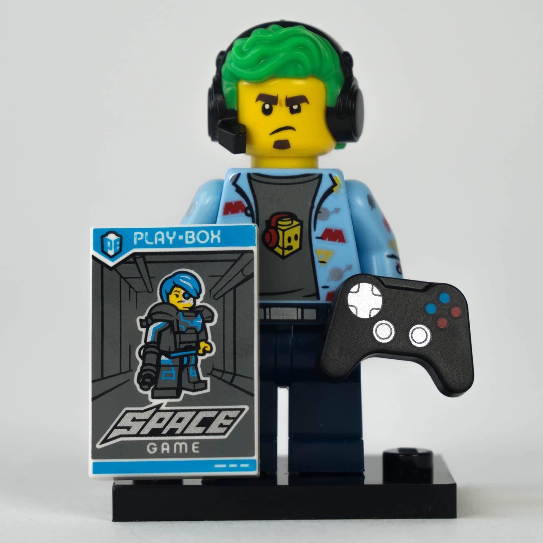 LEGO 71025 Minifigur: Gamer