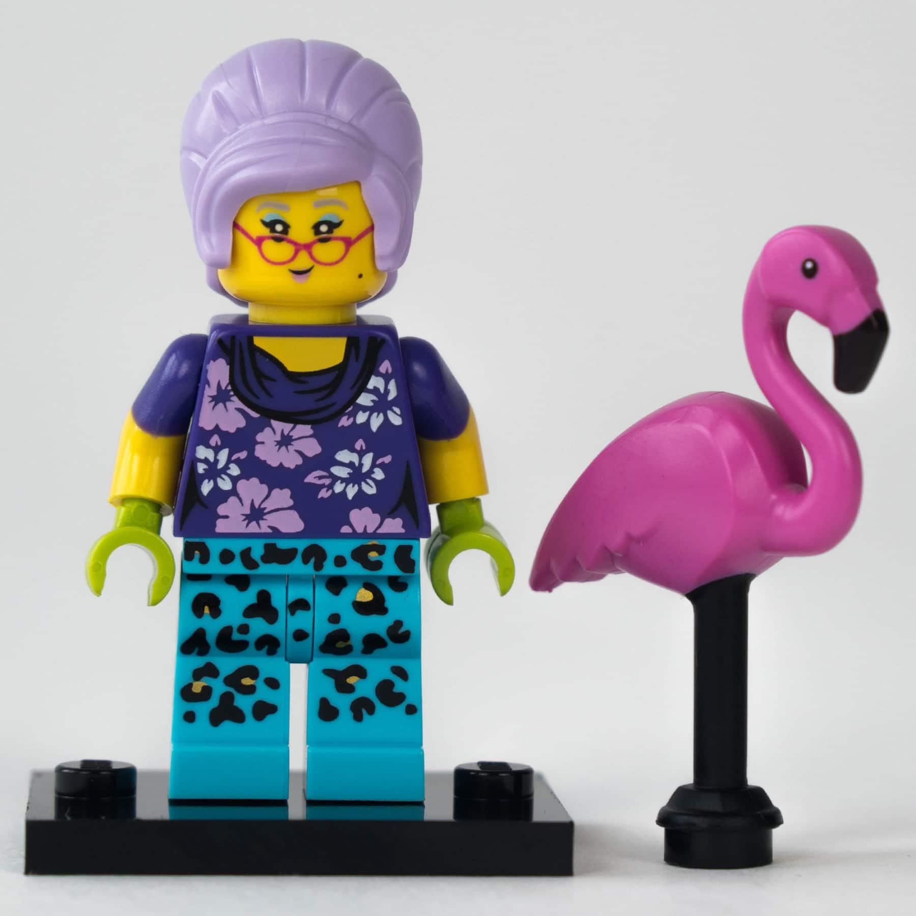 LEGO 71025 Minifigur: Hippie-Oma