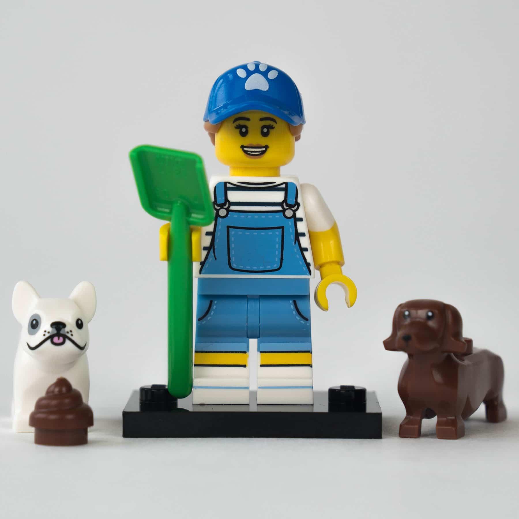 LEGO 71025 Minifigur: Hundesitterin